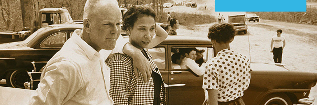 Clickable image of Richard and Mildred Loving (detail), by Grey Villet.