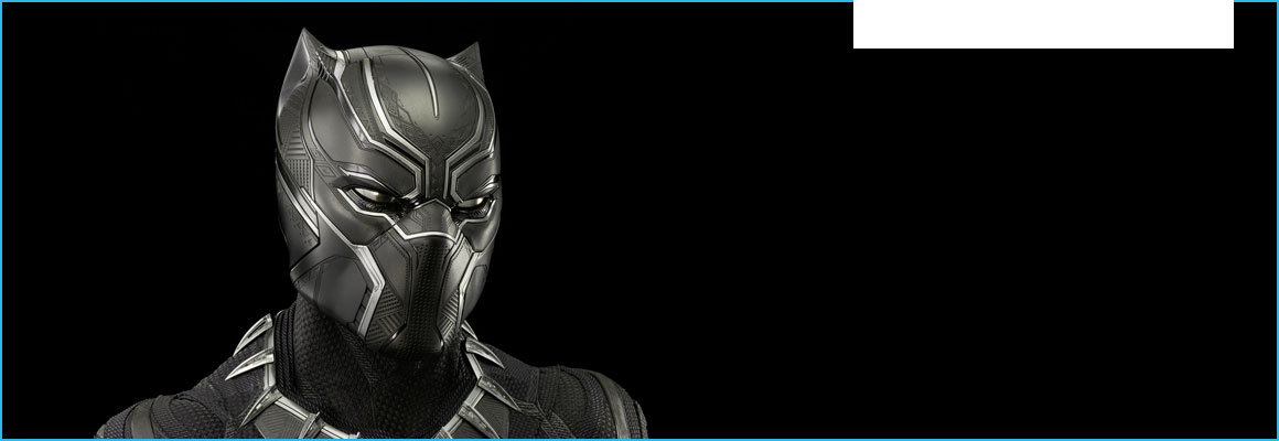 Clickable image of Costume for Black Panther worn by Chadwick Boseman, entry to Learning Lab Collection