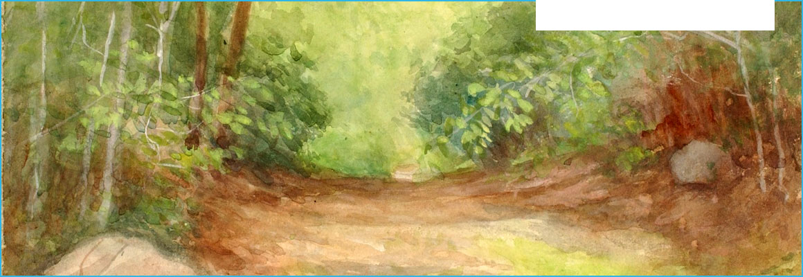Clickable image of Untitled (Forest Scene), by Robert Bruce McDougall, entry to Learning Lab Collection
