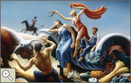 Achelous and Hercules, 1947, Thomas Hart Benton
