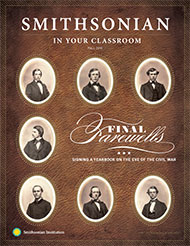 Signing a Yearbook on the Eve of the Civil War