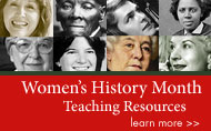 Women's History Month Teaching Resources