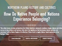 Northern Plains Histories and Cultures: How Do Native People and Nations Experience Belonging?
