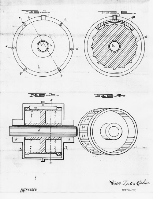 reversible motor diagram